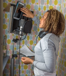 voice talent with own home studio